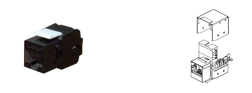 Unshielded Tool Less RJ45 Key Stone Jack